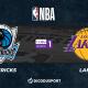 NBA notre pronostic pour Dallas Mavericks - Los Angeles Lakers