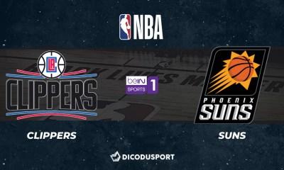NBA notre pronostic pour Los Angeles Clippers - Phoenix Suns