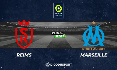 Pronostic Reims - Marseille, 34ème journée de Ligue 1