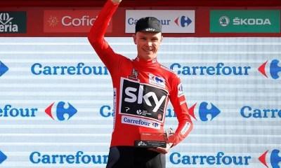 Chris Froome Vuelta 2017