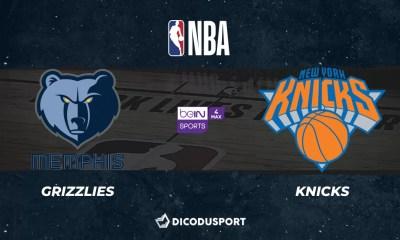 NBA notre pronostic pour Memphis Grizzlies - New York Knicks