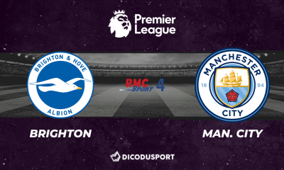 Pronostic Brighton - Manchester City, 37ème journée de Premier League