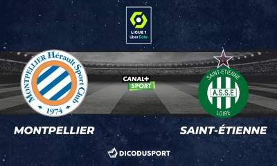 Pronostic Montpellier - Saint-Étienne, 35ème journée de Ligue 1