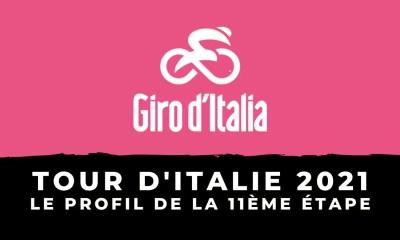 Tour d'Italie 2021 : le profil de la 11ème étape