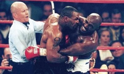 28 juin 1997 : Mike Tyson mord l'oreille d'Holyfield en plein combat