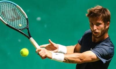 ATP Mallorca : Corentin Moutet élimine Lloyd Harris en deux manches