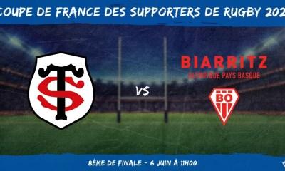 Coupe de France des supporters de rugby 2021 - 8ème de finale Stade Toulousain – Biarritz Olympique