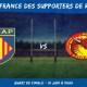 Coupe de France des supporters de rugby 2021 - Quart de finale USAP - Dragons Catalans