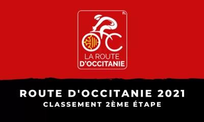 Route d'Occitanie 2021 : le classement de la 2ème étape