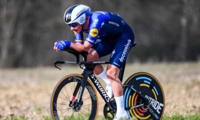 Yves Lampaert trop fort pour Evenepoel sur le chrono des championnats de Belgique