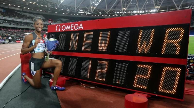 22 juillet 2016 : Kendra Harrison s'offre le record du monde du 100 m haies