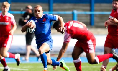 6 Nations U20 - Les Bleuets dominent le Pays de Galles