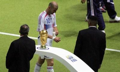 9 juillet 2006 : Zinédine Zidane, sur un coup de tête