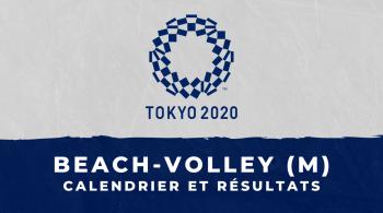 Beach-volley masculin – Jeux Olympiques de Tokyo calendrier et résultats