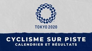 Cyclisme sur piste – Jeux Olympiques de Tokyo calendrier et résultats