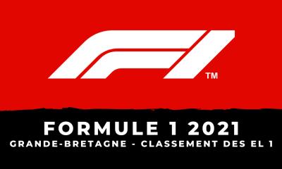 F1 - Grand Prix de Grande-Bretagne 2021 - Le classement des essais libres 1