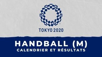 Handball masculin – Jeux olympiques de Tokyo calendrier et résultats
