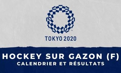 Hockey sur gazon féminin - Jeux Olympiques de Tokyo : calendrier et résultats
