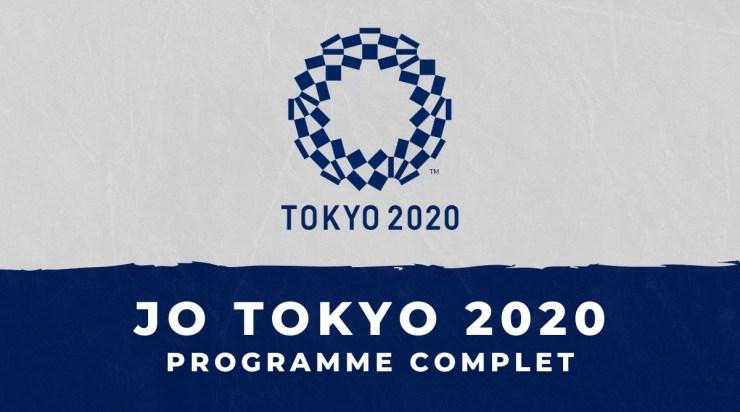 JO 2020 – le programme complet des Jeux Olympiques de Tokyo