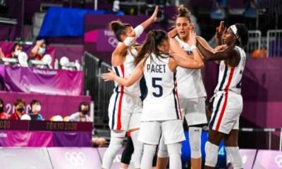 JO Tokyo 2020 – Basket 3X3 Une Migna Touré clutch envoie la France en demi-finale