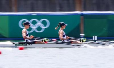 JO Tokyo 2020 - Aviron Bové et Tarantola en argent sur le deux de couple poids léger