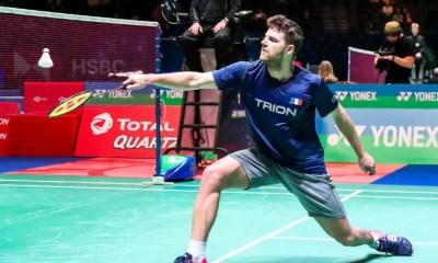 JO Tokyo 2020 - Badminton : Brice Leverdez commence bien ses Jeux