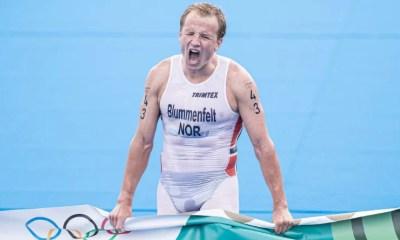 Jeux - JO Tokyo 2020 - Triathlon Kristian Blummenfelt champion olympique, les Bleus calent