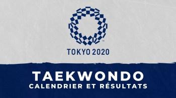 Taekwondo – Jeux Olympiques de Tokyo calendrier et résultats