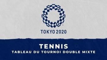 Tennis – Jeux olympiques le tableau du tournoi de double mixte