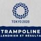 Trampoline - Jeux Olympiques de Tokyo calendrier et résultats