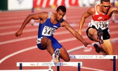 4 août 1997 Stéphane Diagana, champion du monde du 400 m haies