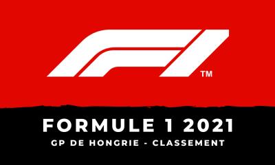 F1 - Grand Prix de Hongrie 2021 le classement de la course