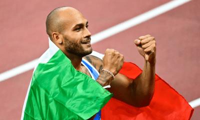 Jeux - JO Tokyo 2020 - Athlétisme Marcell Jacobs champion olympique du 100m masculin