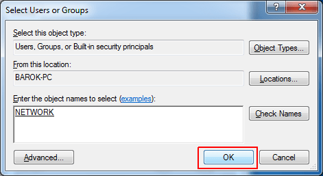 Select user Groups