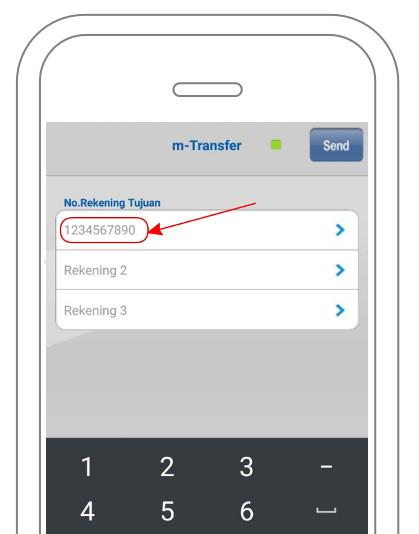 Menambahkan rekening tujuan transfer antar BCA