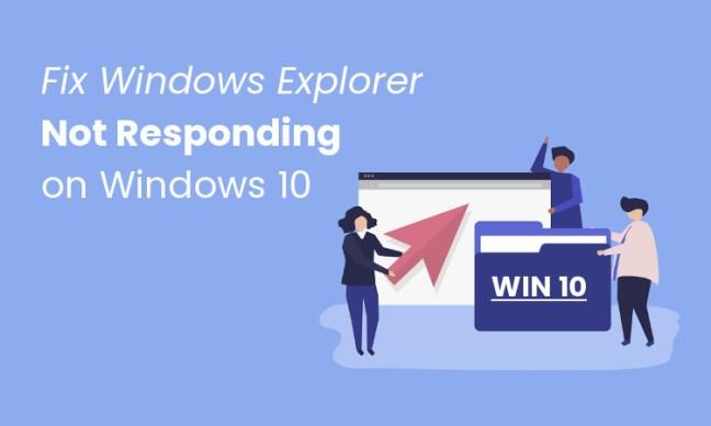 Windows Explorer Not Responding pada Windows 10