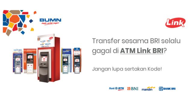 Transfer di ATM Link BRI
