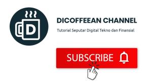 Subscribe Youtube Dicoffeean