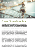 Reset COVID 19 Chance fuer Neuanfang