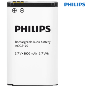 Replacement spare battery ACC8100 for Philips DPM8000 DPM8100 DPM8500