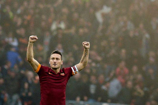 Fracesco Totti Roma Legend Most fun club to play on FM