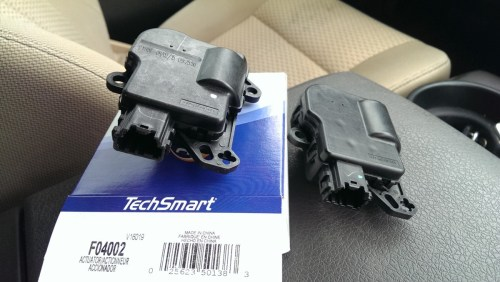 small resolution of replacing an f 150 blend door actuator for hvac 2009 2014 did it myself