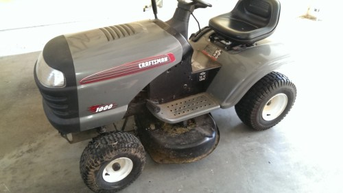 small resolution of riding mower belt and blades replacement did it myself craftsman lt1000 mower belt diagram craftsman riding mower belt
