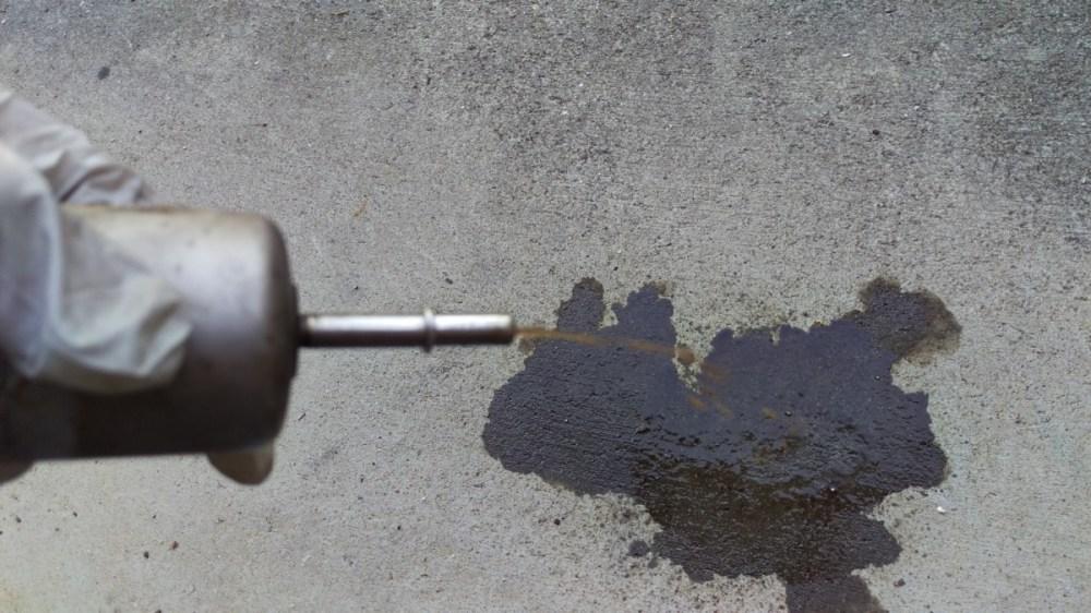 medium resolution of fuel filter spewing gunk after removal