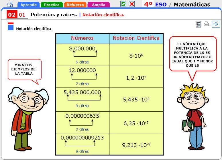Matemáticas Y Física Química Notación Científica Y Cambios De Unidades Por Factores De Conversión Naturalia El Blog Del Hermano Acción Docente José López Mateos