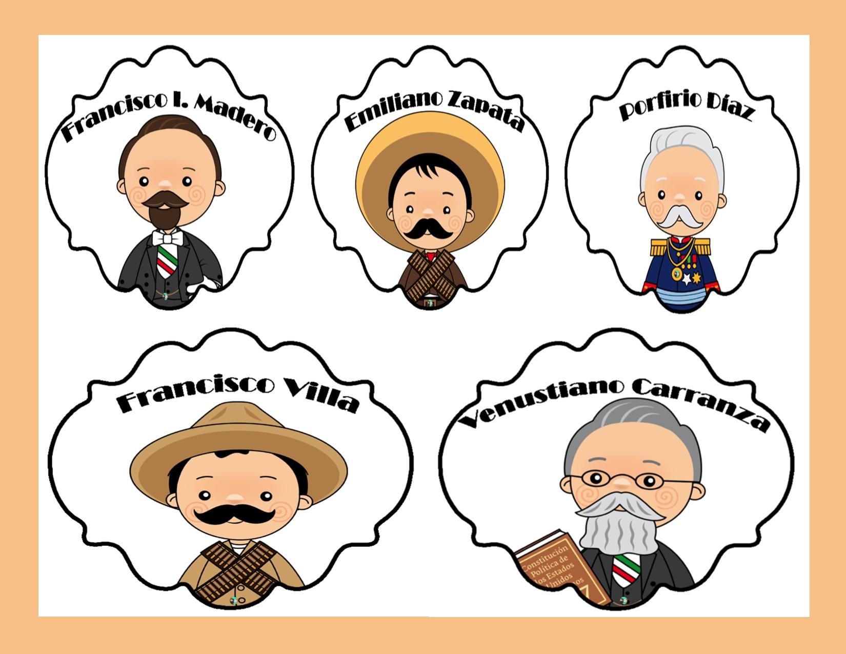 Dibujos Para Colorear De Revolucion Mexicana Revolucion