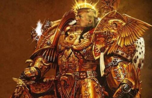 Monday morning for the God-Emperor