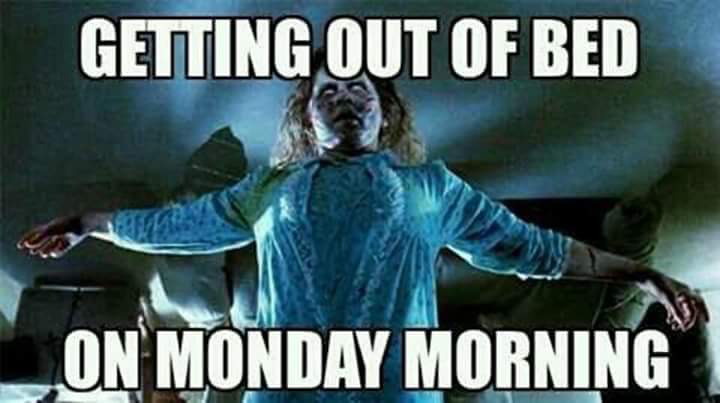 Monday morning with Father Merrin