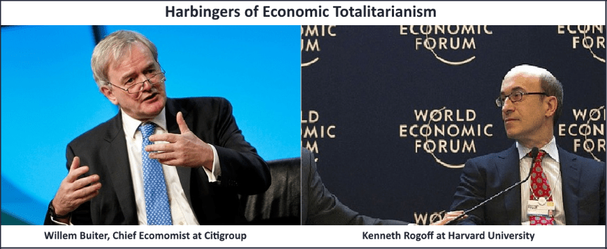 Harbingers of Economic Totalitarianism