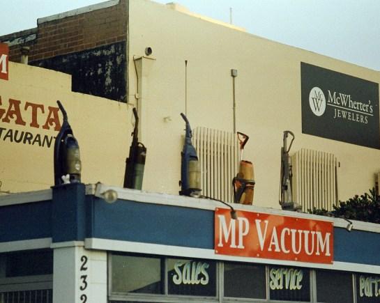 Vacuum Cleaners, expired 35mm film (C) Dida Kutz